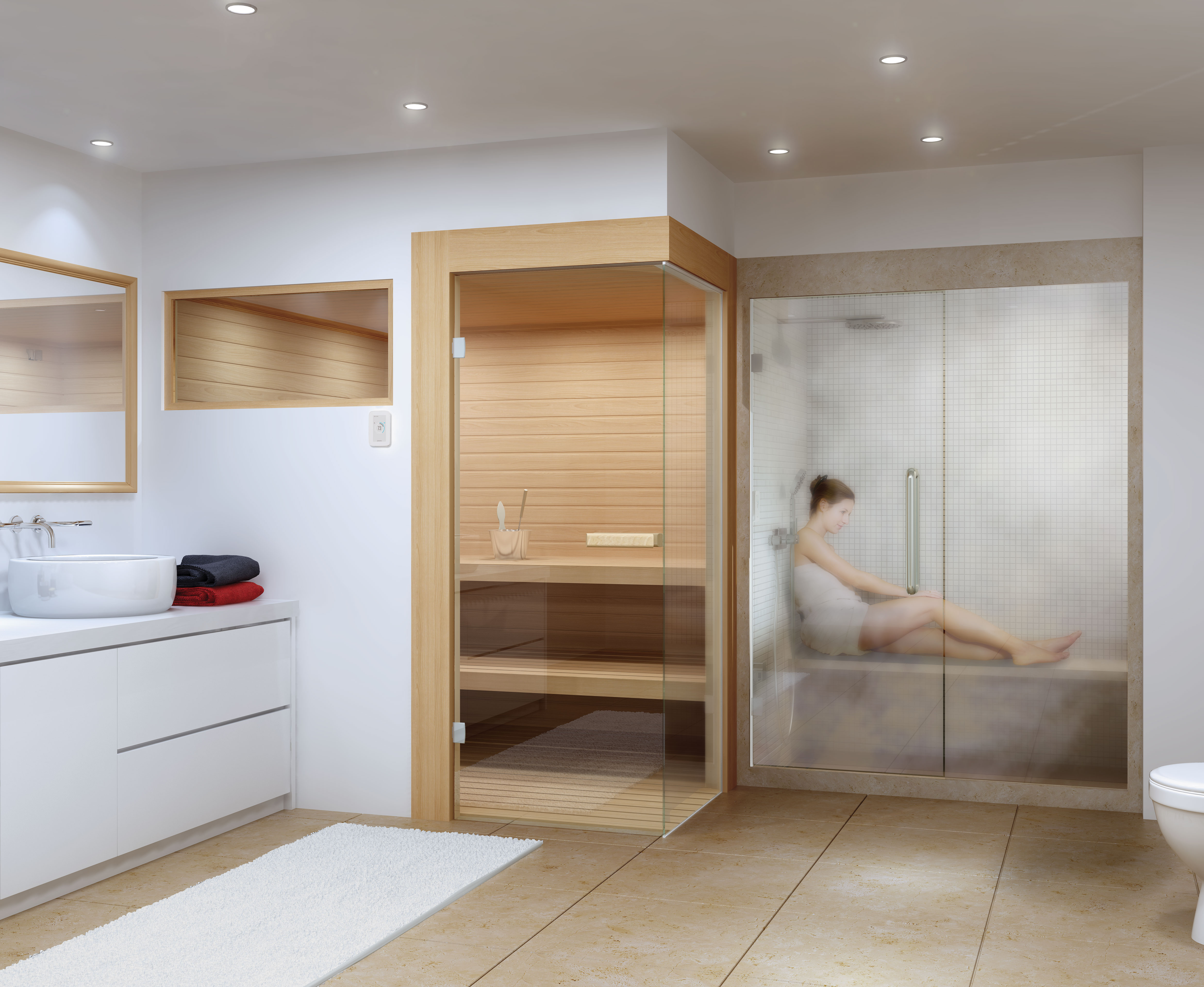 How Steam Showers And Saunas Prevent Common Colds And Give Symptom