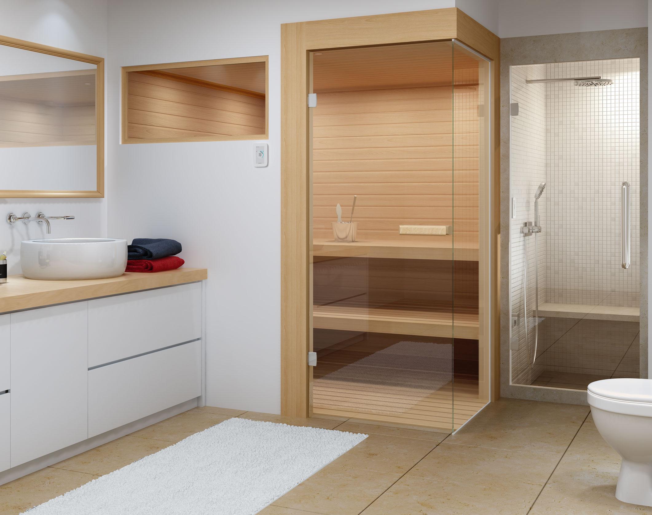 amerec manufacturing steam sauna since 1963. Black Bedroom Furniture Sets. Home Design Ideas